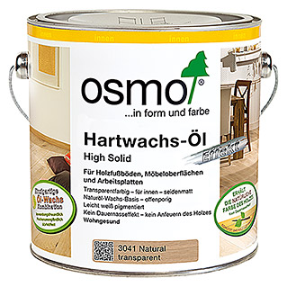 Osmo High Solid Hartwachsöl Effekt 3041 (Natural, 2,5 l, Matt)