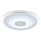 Tween Light Luz de techo LED Stella (1 luz, 18 W, Temperatura de color ajustable, Intensidad regulable, Diámetro: 86 cm)