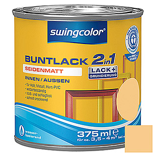 swingcolor 2in1 Buntlack (Papayaorange, 375 ml, Seidenmatt)