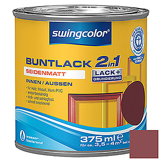 swingcolor 2in1 Buntlack (Weinrot, 375 ml, Seidenmatt)