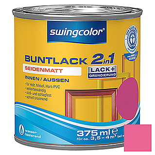 swingcolor 2in1 Buntlack (Telemagenta, 375 ml, Seidenmatt)