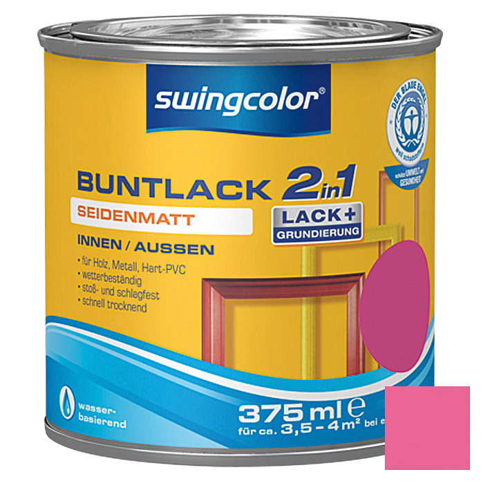 BUNTLACK 2IN1 SDM.WB375 ml TELEMAGENTA  SWINGCOLOR