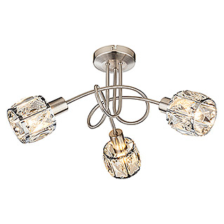 Tween Light Regleta Diamant (3 luces, 3 × 40 W, L x Al: 38 x 24 cm)