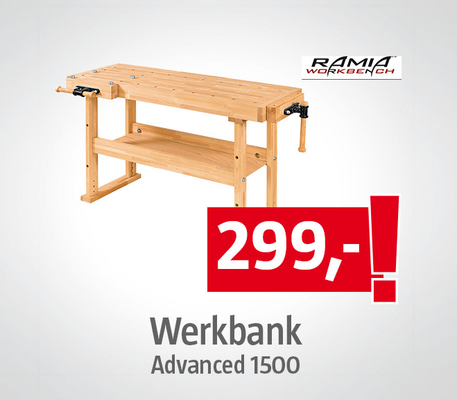 Ramia Werkbank Advanced 1500