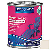BUNTLACK HGL. LB    125 ml CREMEWEISS   SWINGCOLOR