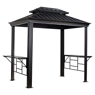 Sojag Grillpavillon Messina BBQ (179 x 292 x 262 cm, Anthrazit)