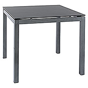 Resopal Garten-Tischplatte Vari Desk (90 x 90 cm, Resopal, Space Grey)