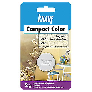 Knauf Putz-Abtönfarbe Compact Color (Ingwer, 2 g)