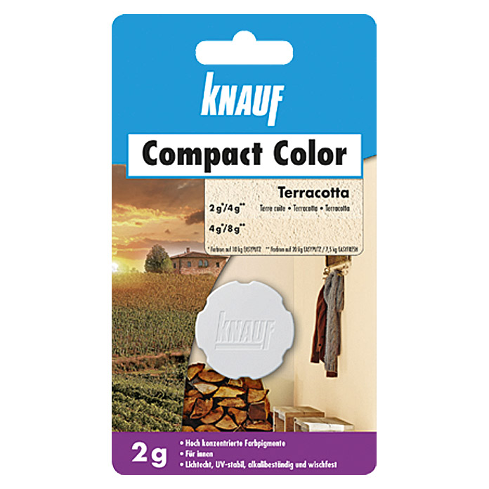 COMPACT COLOR 2 g   TERRACOTTA          KNAUF