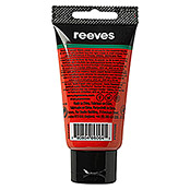 Reeves Acrylfarbe (Zinnoberrot, 75 ml, Tube)