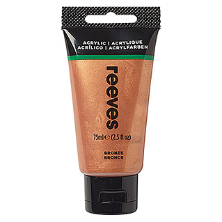 Reeves Acrylfarbe (Bronze, 75 ml, Tube)