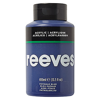 Reeves Acrylfarbe (Phtaloblau, 400 ml, Tube)