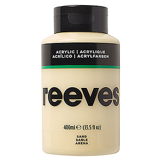 Reeves Acrylfarbe (Sand, 400 ml, Tube)