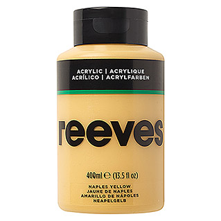 Reeves Acrylfarbe (Neapel Gelb, 400 ml, Tube)