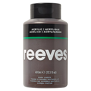 Reeves Acrylfarbe (Umbra Natur, 400 ml, Tube)