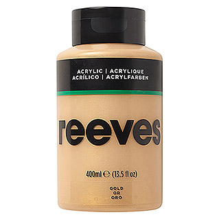 Reeves Acrylfarbe (Gold, 400 ml, Tube)