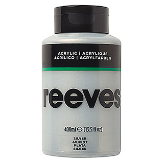 Reeves Acrylfarbe (Silber, 400 ml, Tube)