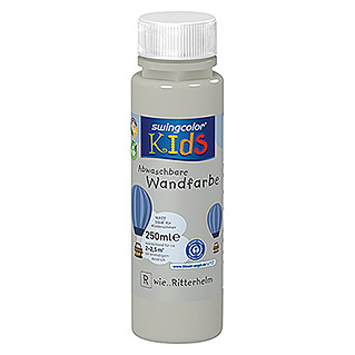 swingcolor KIDS Wandfarbe (Ritterhelm, 250 ml, Matt)