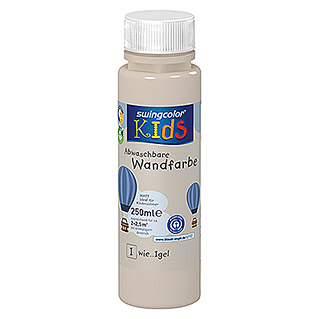 swingcolor KIDS Wandfarbe (Igel, 250 ml, Matt)