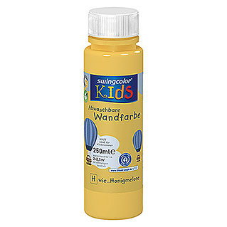 swingcolor KIDS Wandfarbe (Honigmelone, 250 ml, Matt)