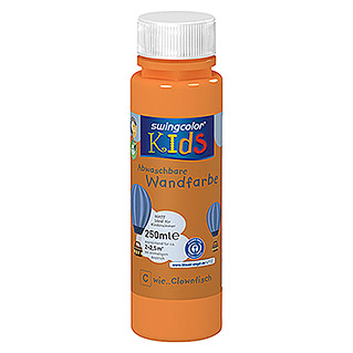 swingcolor KIDS Wandfarbe (Clownfisch, 250 ml, Matt)