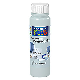 swingcolor KIDS Wandfarbe (Bergluft, 250 ml, Matt)