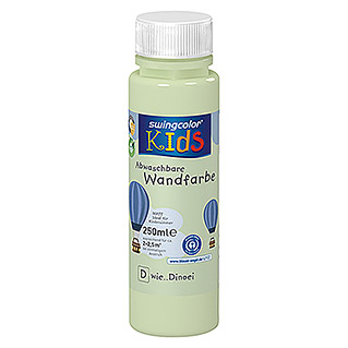swingcolor KIDS Wandfarbe (Dinoei, 250 ml, Matt)