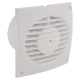 Air-Circle Ventilator Top Air (Ohne Timer, 100 mm, Weiß)