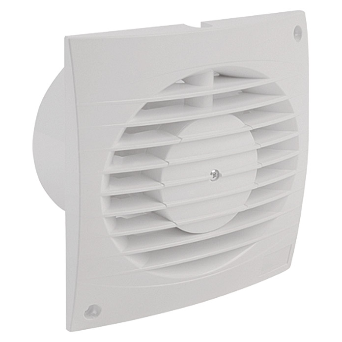 air circle ventilator top air mit timer 100 mm wei - Badezimmer Abluftventilator Abdeckung