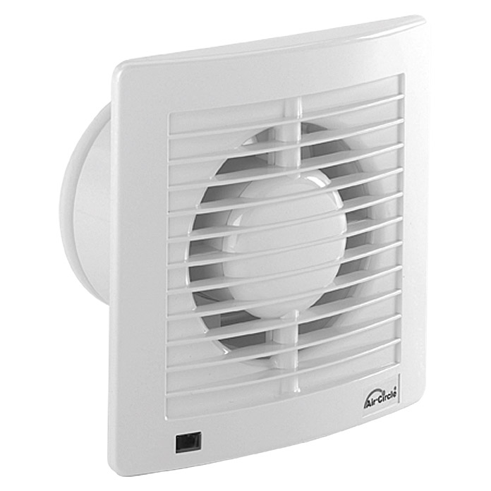 Air-Circle Ventilator Air Style N39231 (Weiß, Durchmesser: 150 mm, Economic-Timer)