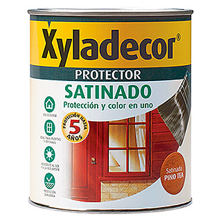 Xyladecor Protección para madera Satinado (Nogal, 750 ml, Satinado)