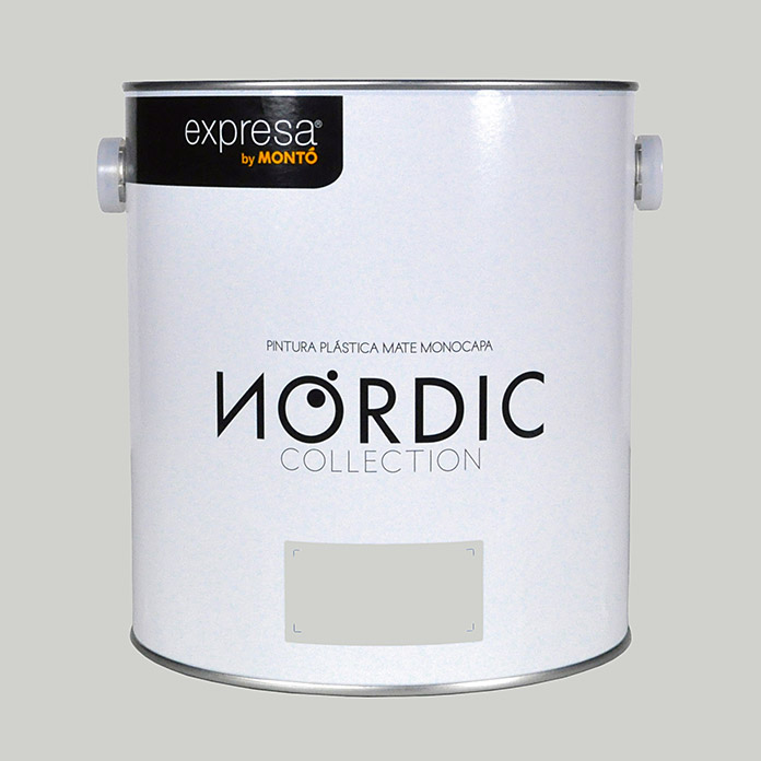 Montó Nordic Collection Pintura para paredes (Piedra, 4 l, Mate)