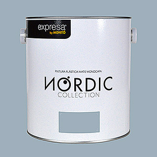 Montó Nordic Collection Pintura para paredes azul gabla (4 l, Mate)