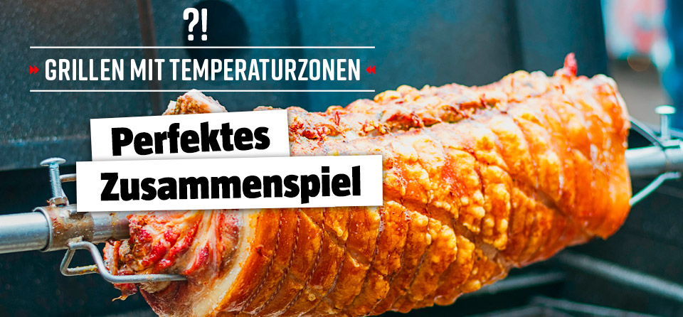 Indirektes vs. direktes Grillen