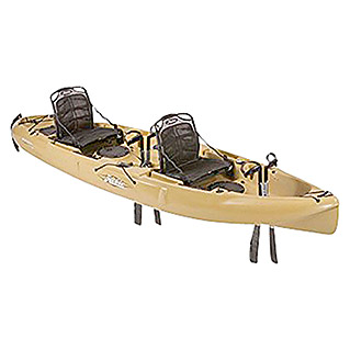 Hobie Kayak Mirage Outfitter Olive (386 x 86 cm, Específico para: 2 personas)