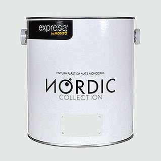 Montó Nordic Collection Pintura para paredes (Lino, 4 l, Mate)