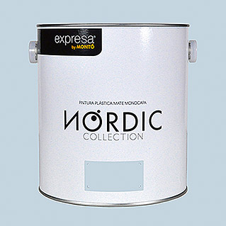 Montó Nordic Collection Pintura para paredes azul stal (4 l, Mate)