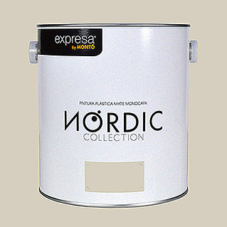Montó Nordic Collection Pintura para paredes (Almendra, 4 l, Mate)