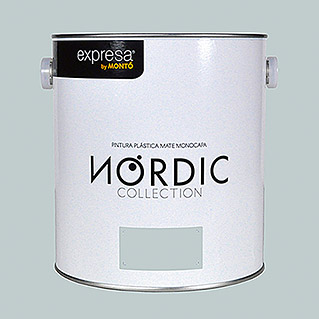 Montó Nordic Collection Pintura para paredes (Jade, 4 l, Mate)