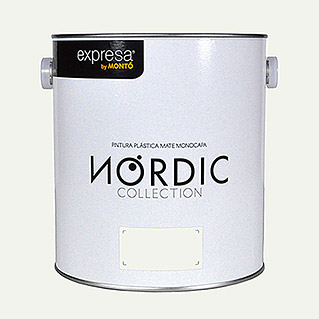 Montó Nordic Collection Pintura para paredes hueso kikert  (4 l, Mate)