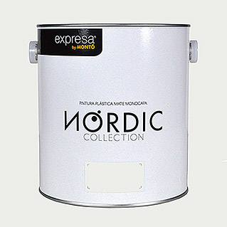 Montó Nordic Collection Pintura para paredes quarzo kvarts (4 l, Mate)