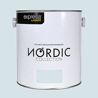 Montó Nordic Collection Pintura para paredes verde gragronn (4 l, Mate)
