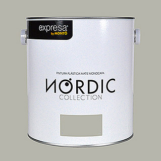 Montó Nordic Collection Pintura para paredes nuez valnott (4 l, Mate)