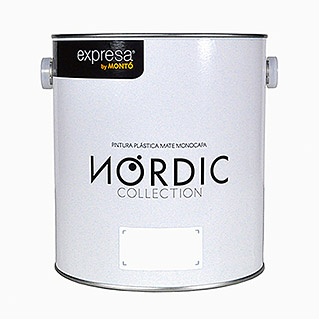 Montó Nordic Collection Pintura para paredes blanco lyse (4 l, Mate)