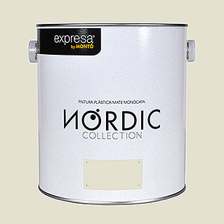 Montó Nordic Collection Pintura para paredes avena havre (4 l, Mate)