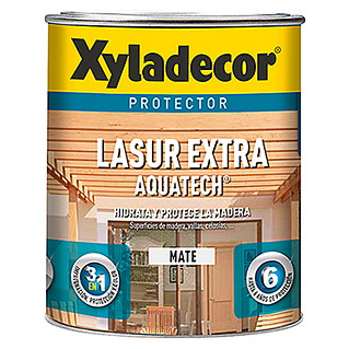 Xyladecor Protección para madera Extra Aquatech (Roble, 750 ml, Mate)