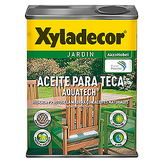 Xyladecor Aceite para teca Aquatech (750 ml, Teca)
