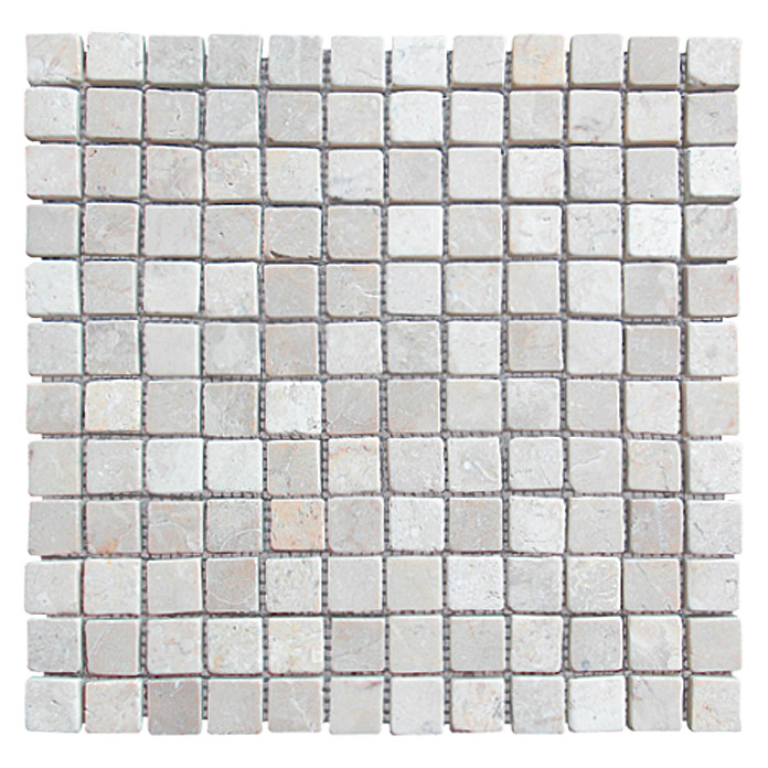 mosaikfliese thumbnail 30 x 30 cm creme wei matt bauhaus. Black Bedroom Furniture Sets. Home Design Ideas
