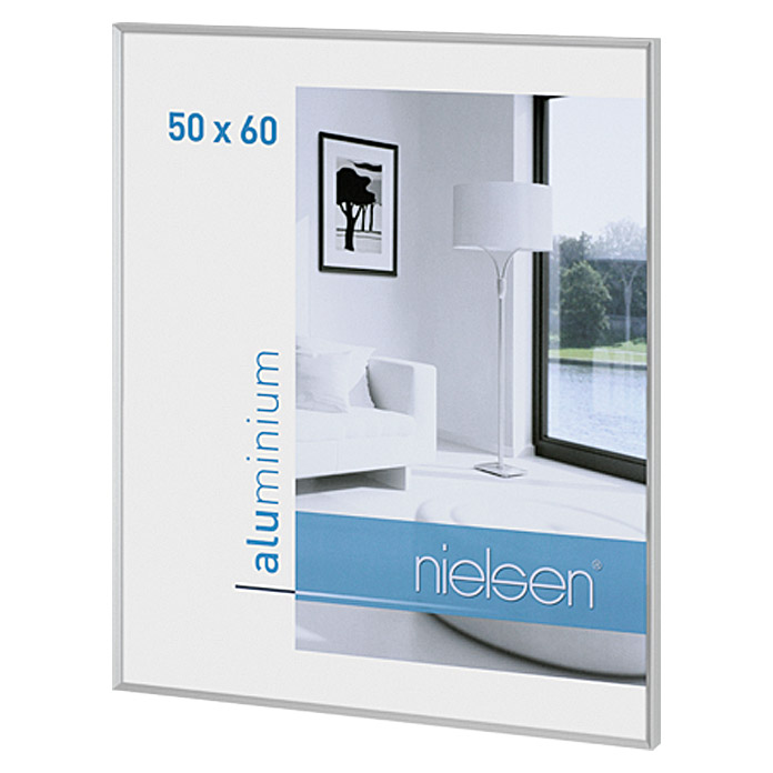 nielsen bilderrahmen pixel silber 50 x 60 cm aluminium. Black Bedroom Furniture Sets. Home Design Ideas