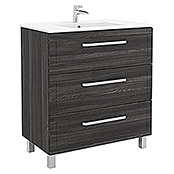 Mueble de lavabo Laredo (45 cm x 79,5 cm x 87 mm, Sheffield)